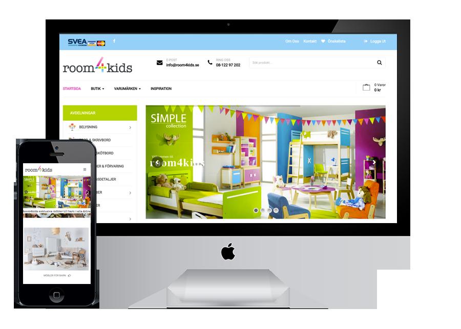 Room4kids Webshop