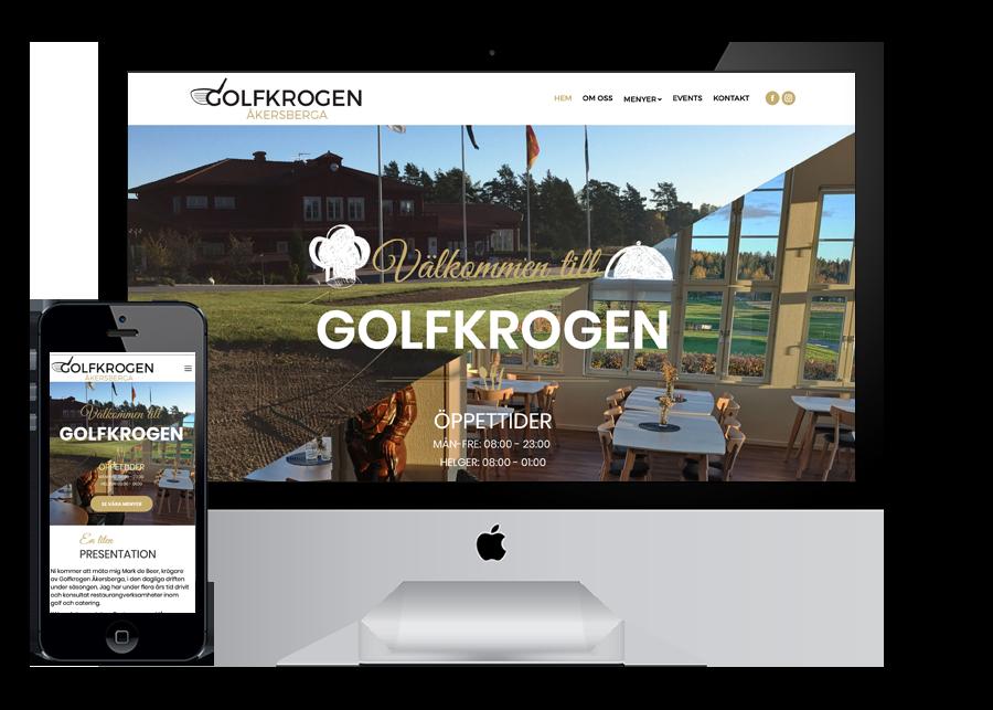 Golfkrogen i Åkersberga